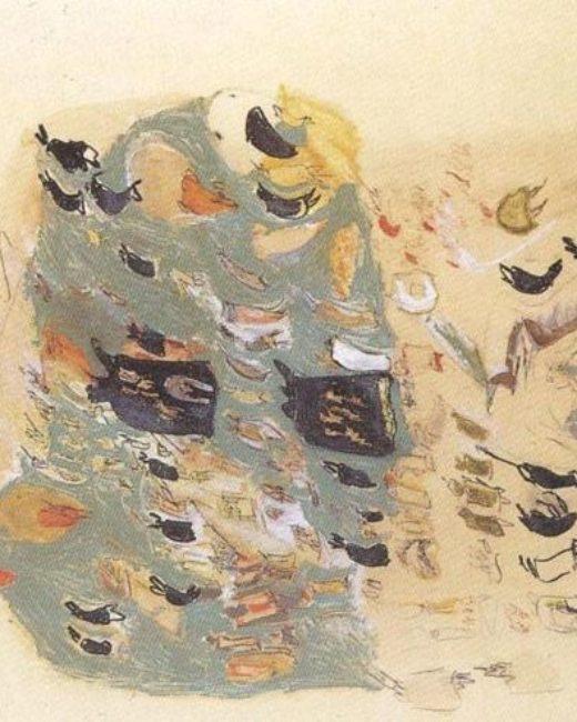 Franco Filippi – Pittura su carta